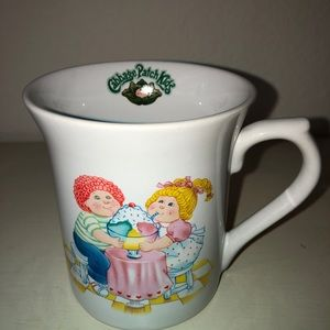 Vintage 1984 Cabbage Patch Kids Coffee Mug